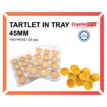 TARTLET IN TRAY 45MM (2 PACKET)
