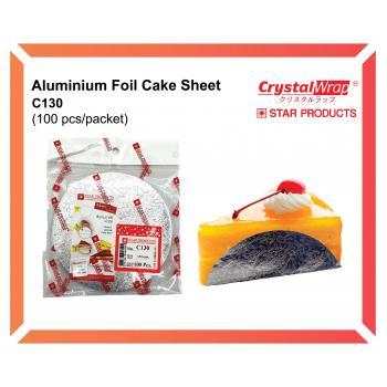 Aluminium Foil Cake Sheet 100 pcs (C130)