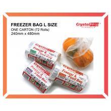 Freezer & Food Bag L Size (72 Rolls/ctn)