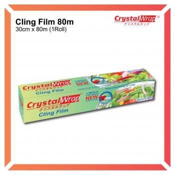 CrystalWrap® CLING FILM 80Metres