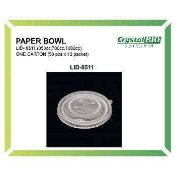 Paper Bowl LID-8511 (50 pcs x 12 packet)