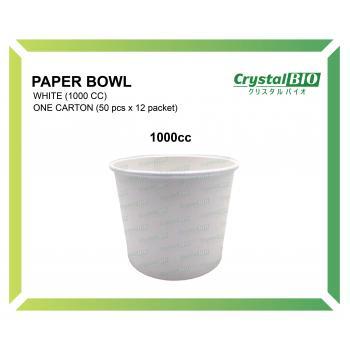 1000cc Paper Bowl (50 pcs x 12 packet)
