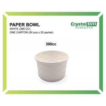 390cc Paper Bowl (50 pcs x 20 packet)