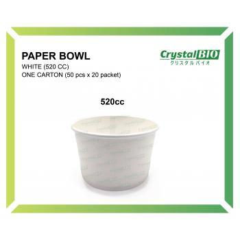 520cc Paper Bowl (50 pcs x 20 packet)