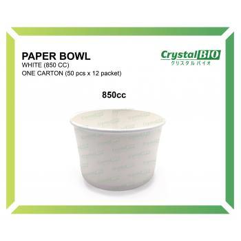 850cc Paper Bowl (50 pcs x 12 packet)